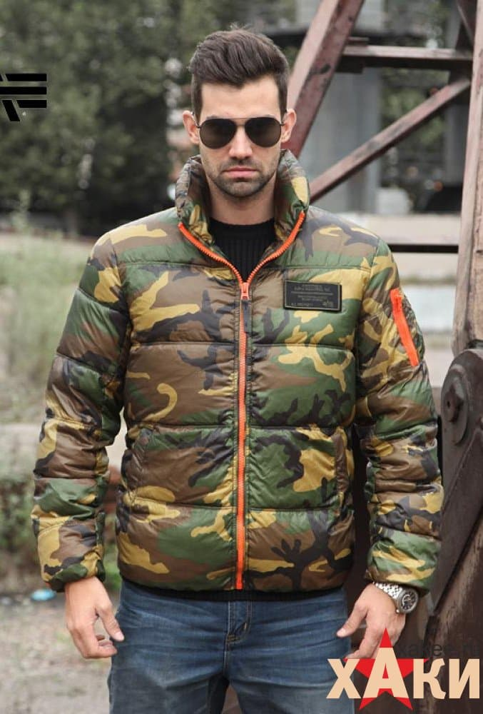 Куртка Alpha Industries, Ice Vapor, woodland