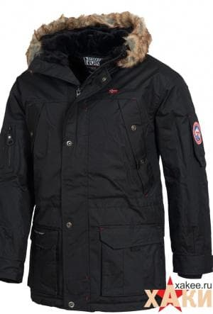 Куртка (Аляска) Parka Atlas 1 Men 003, черный, Geo.Norway
