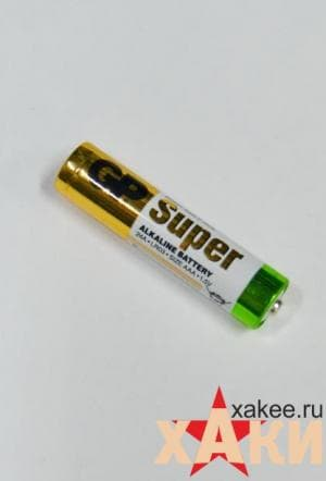 Батарейка алкалиновая AAA GP Batteries Super Alkaline 1,5v